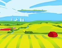 Iowa Landscape 2200 A.D.