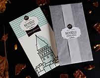 Tarihi Meşhur Beyoğlu Çikolatası İçin Ambalaj Tasarımı