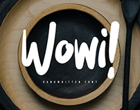 Wowi Brush Font - FREE DOWNLOAD FONT