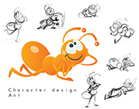 Character Design  Ant