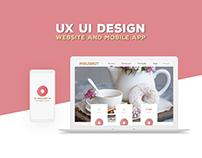 Philonut - UI / UX design