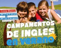 English Summer Camps brochure 2011 / Costa Blanca