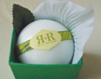 R & R : Womens Bath and Body Product (Package Design)