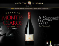Adega Coop Borba - website