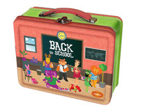 Patchino Back to School Tin Box