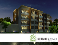 Bchamoun 3040 - Logo & Brochure
