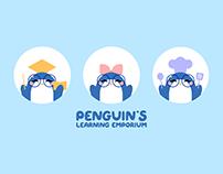 Brand Design II: Penguin's Learning Emporium
