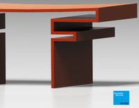 Torii Collection - small center table.