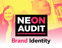 NEON AUDIT Brand Identity Design