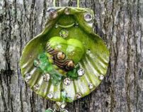 HandMade Seashell Pendant Necklaces