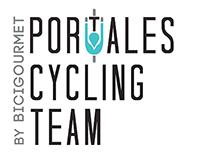 Identidad gráfica: Portales Cyclist Team