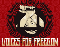 Voices for Freedom Benefit Posters