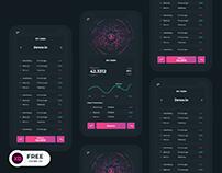 Bitcoin App Ui Design Freebie