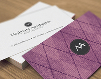 Modicum Aesthetics Branding
