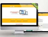 Meridian Corporate Website Template