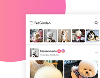 Roxi - Social App for Pet Lover ( Free PSD)
