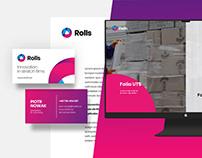 ROLLS / Branding, DTP, Website, Videos & more