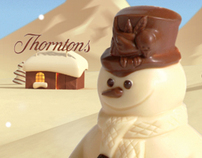 3D Chocolate Winter - Advertising Imagery
