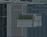 Experiments with FL Studio (Fruity Loops)