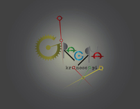 Giragrama Kronoscopio (logo and characters)