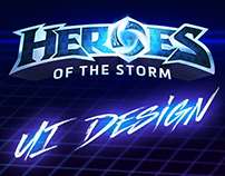 Heroes of the Storm - UI Design & Art