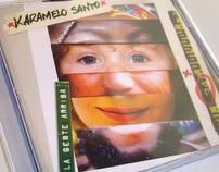 Karamelo Santo Cover Art :: La Gente Arriba