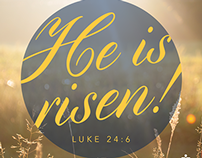 Typographic Verses - Holy Week
