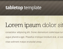 Tabletop HTML Template