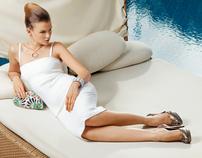 Summer fashion editorial for Divani Hotels magazine