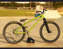 Hi-Poly 3D model Dirt Jumping MTB Specialized P26 AM