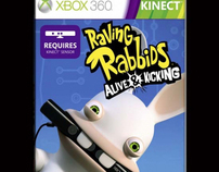 "Ubisoft - ""Raving Rabbids - Alive & Kicking"""