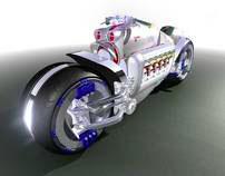 DamilerChrysler Tomahawk Motorcycle - 2003