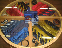 Bespoke Shirt & Tie Table