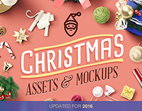 Christmas Assets And Mock Ups - Updated For 2016