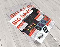 Free Big Sales PSD Flyer Download