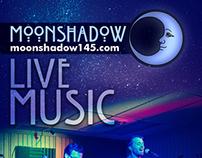 Moonshadow Cafe Rack Card