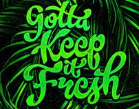 Handlettering: Keep It Fresh