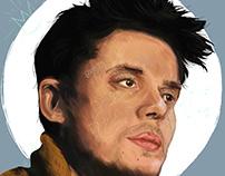 John Mayer - Digital Painting