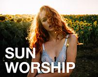 Sun worship with Kat