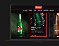 Steinlager Website