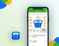 Weight Loss - Mobile Application Design (UI/UX)