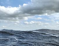 Maxwell Render Sea