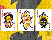 悲伤的扑克牌