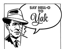 Hell-o Yak Brand Work