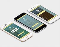 Mobile Apps Design Login UI Design