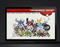 The Pokemon Center 1.0 | Website Design