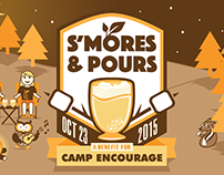 "Camp Encourage Event ""S'mores & Pours"""