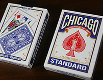 Chicago Playing Cards (Blue Back)