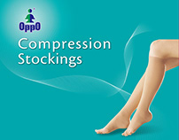 OPPO MEDICAL-Compression Stockings/Graphic Design