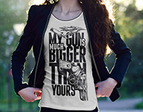 Girl T-shirt Mockups Free download